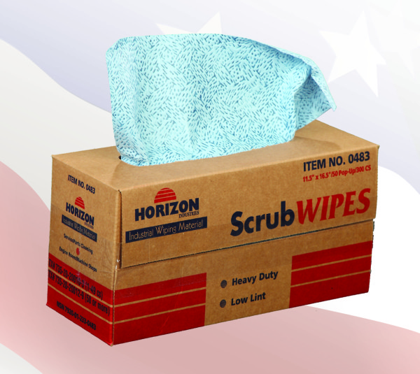 0483 - Polypropylene Scrub Wipes
