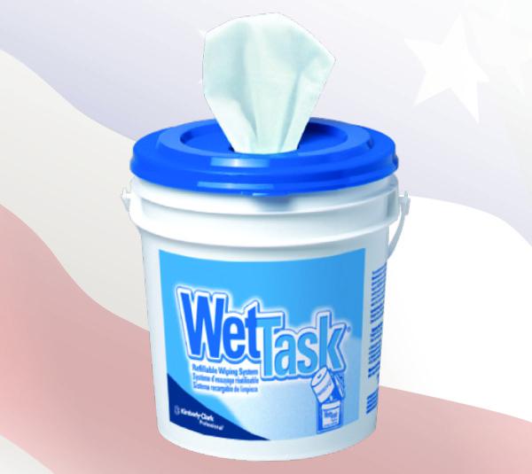 0508 - 1-Ply Tissue Material Wet Task