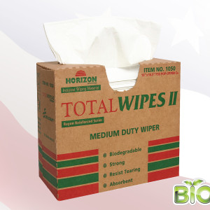 1050 - 4-Ply Tissue Total Wipes II