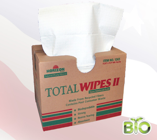 1365 - 4-Ply Tissue Total Wipes II