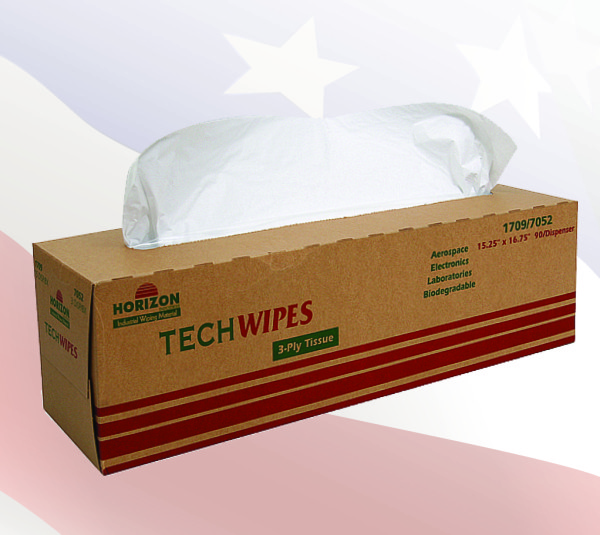 1709 - 3-Ply Tissue TechWipes