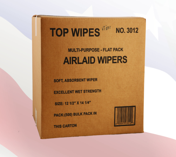 3012 - Airlaid Top Wipes