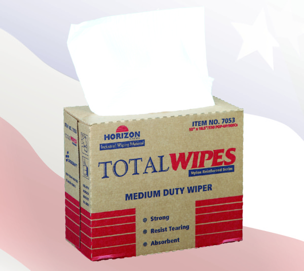 7053 - 4-Ply Tissue Total Wipes