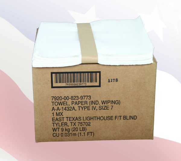 9773 - 4-Ply Tissue Total Wipes